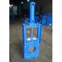16 Bar Closed Working Pressure Knife Cast Steel Gate Valve By Heavy Duty Manufactures