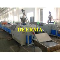 Quality High Output Plastic Profile Production Line for UPVC Window / PVC Door Panels for sale