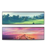 China Horizontal Stretched Bar Lcd Display 32 38 Inch 2/3 Cut Special Size on sale