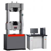 computer control servo hydraulic universal testing machine to meaure tensile strength compression strength elongation Manufactures