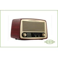 China Wood Cabinet Classic Style Radio , Desktop Type , with Alarm Clock , LCD Display on sale