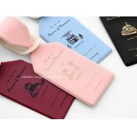 PVC Luggage Tags Labels ID Identifier Tag Travel Baggage Suitcase Label  Ideal for Luggage Cases Identification Manufactures