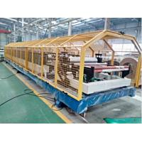 China Mineral Wool PU Sandwich Panel Line Automatic 10 ~ 12 Sets Roll Stands on sale