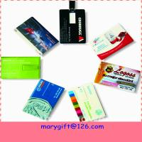 Credit card pendrives hotsale flash drives usb flash driver with cheap price Manufactures