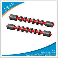 Comb rubber disc self cleaning belt conveyor sleeve roller Manufactures