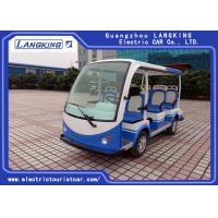 China 8 Seater Climbing Ability 18% Electric Tourist Car with Medical Chest for Airport on sale