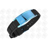 Sky Blue Ionized Therapy Stainless Steel Bracelet Fashion Bracelets For Men Manufactures