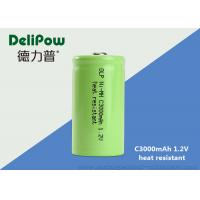 Green Power C3000mAh High Temperature Rechargeable Battery 1.2 Voltage Manufactures
