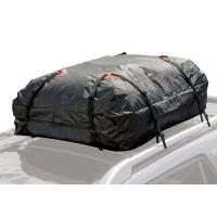 Black rooftop Cargo Storage Bag For Car Roof Manufactures