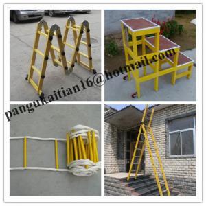Straight fiberglass ladder Collapsible ladder Fiberglass Insulation ladder&straight Manufactures