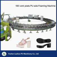Quality Power Saving PU Sole Foaming Turntable Production Line for sale