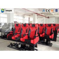 Large 4D Movie Theater , Electronic 4DM Motion Cinema Equipment Manufactures