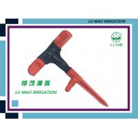 Rotary Water Lawn And Golf Irrigation Sprinkler With 3 - Arms Red Nozzles Manufactures
