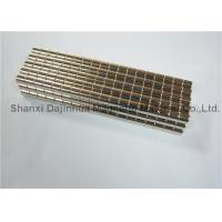 NdFeB Magnetizing super strong magnets Hign Coercivity Corrosion Resistance Manufactures