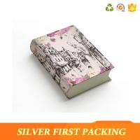 Silver First custom Pretty book shape gift boxes design with magnetic closure Manufactures
