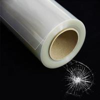 China High Quality Bulletproof Safety window Film Protection Glass Anti Bullet Tint Film on sale