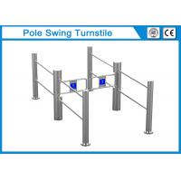 China 180 Degrees Swing Arm Waist Height Turnstile , Pedestrian Gate Access Control PCB on sale