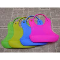 China BPA Free Durable Safe FDA Soft Baby Bibs Over 3 Years Use Life for sale