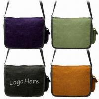 Canvas Shoulder Bags with Adjustable Handle Manufactures