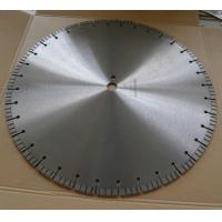 China 500mm 20 / 24 Diamond Concrete Saw Blades with Good Efficiency on sale