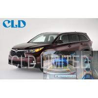 DVR Function HD Video Car Backup Camera Systems Waterproof For Toyota Highlander, Bird View System Manufactures