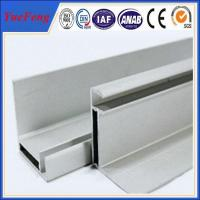 customized aluminum extrusion solar panel frame as per design drawings Manufactures
