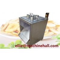 China Commercial Cassava Chips Cutting Machine|Kiwi Fruit Chips Slicer Machine For Sale on sale