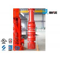 500 Usgpm Vertical Turbine Fire Pump Installation Easy With Carbon Steel Column Pipe Manufactures