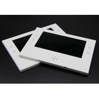 Push button activated stick on video lcd devices, lcd screen inside presentation box Manufactures