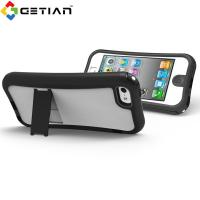 Stand Shockproof iPhone 5 Protective Cases With Stand For Male Manufactures