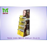 Eco Promotion Advertisement Display Stands , Cardboard Store Display For Shampoo Manufactures