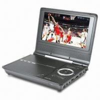 China Portable DVD with DVB-T Receiver Slim 7-inch LCD TFT Widescreen Display on sale