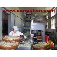 Buy cheap Fresh Grape Juice Production Line from wholesalers