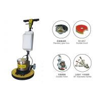 High Speed Hard Wood Floor Polisher , commercial floor scrubber with Water Tank Manufactures