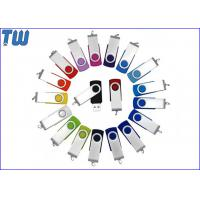 Quality Classic Twister 1GB Pen Drive Swivel Thumb Drive Device Free Logo Printing for sale