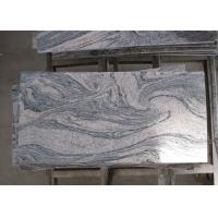 Multicolor Juparana Pink Granite Stone Tiles Custom Dimensions Eco Friendly Manufactures
