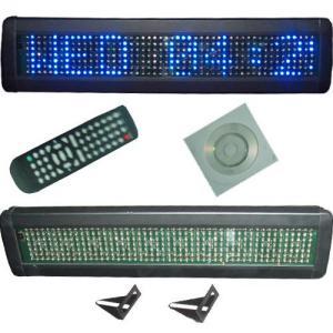 Blue LED Indoor Display Sign Manufactures