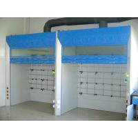 Steel Lab Fume Cupboard , Laboratory Equipment 19mm Thick Epoxy Resin Board Manufactures
