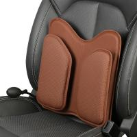 Reliable Auto Car Cushions Lumbar Support Memory Foam Back Cushion 38cm * 17cm * 18.5cm Manufactures