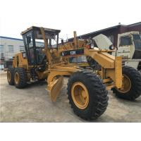 123KW Slightly Used Motor Graders Caterpillar 12H 8700mm*2400mm*3000mm Manufactures