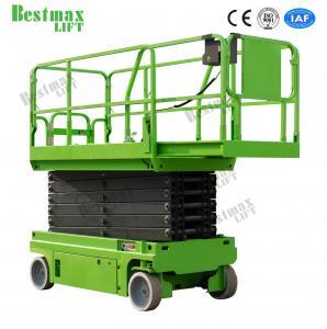 12m Automotive Self Propelled Scissor Lift Hydraulic Man Lift Platform 230Kg Manufactures