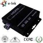 100Ω Impedance 4K EDID, SFP Port HDMI Over Fiber Optic Extender 3840*2160/30P Manufactures