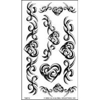 Portable Paper Necklace Temporary Body Art tattoo designs Stickers custom designs for lady Manufactures