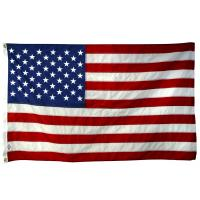 China Fashionable durable polyester custom flags banners American flags on sale