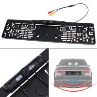 China High Resolution Car Rear View Camera System EU Car License Plate Frame on sale
