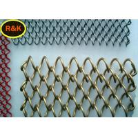 Multi Colors Construction Wire Mesh , Wire Mesh For Restaurants
