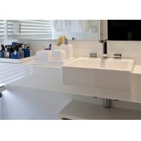 Super White Nano Crystallized Glass Stone Vanity Top And Countertop Manufactures