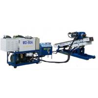 MD-80 Full Hydraulic Skid Mounted Drilling Rig Drilling Machine Piling for slope anchoring Manufactures