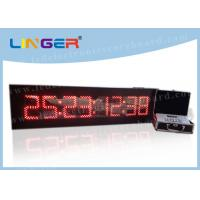 8 Digits Digital Countdown Clock Days Hours Minutes Seconds For Indoor Manufactures