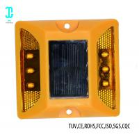 China LED Safe Cat Eye Road Reflector Solar Dock Lights 100h After Fully Charged on sale